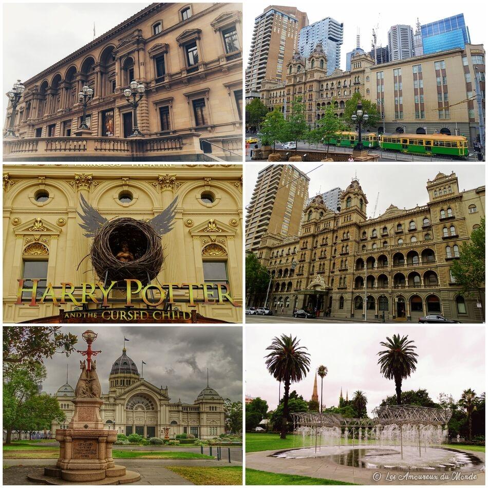Centre ville de Melbourne