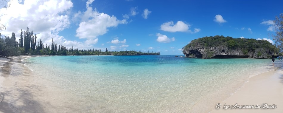 baie de Kanumera - île des Pins