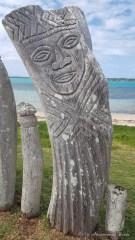 statues de Saint Maurice - île des Pins