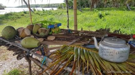 stand de fruits île des Pins