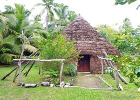 case traditionnelle A la petite baie - Lifou