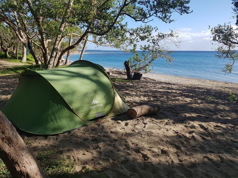 Camping Babou côté Ocean à Hienghene