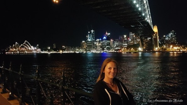 Harbour Bridge by night - Sydney