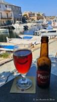 Déjeuner au port de Centuri - Cap Corse