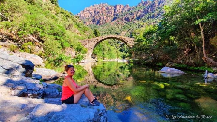 Pont de Pianella - Gorges de Spelunca - Corse