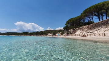 Plage de Tamaricciu - Corse