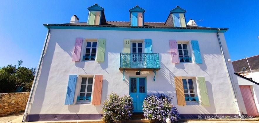 maison belliloise à Sauzon