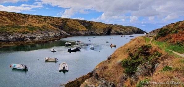 Le port de Goulphar - Belle île en Mer