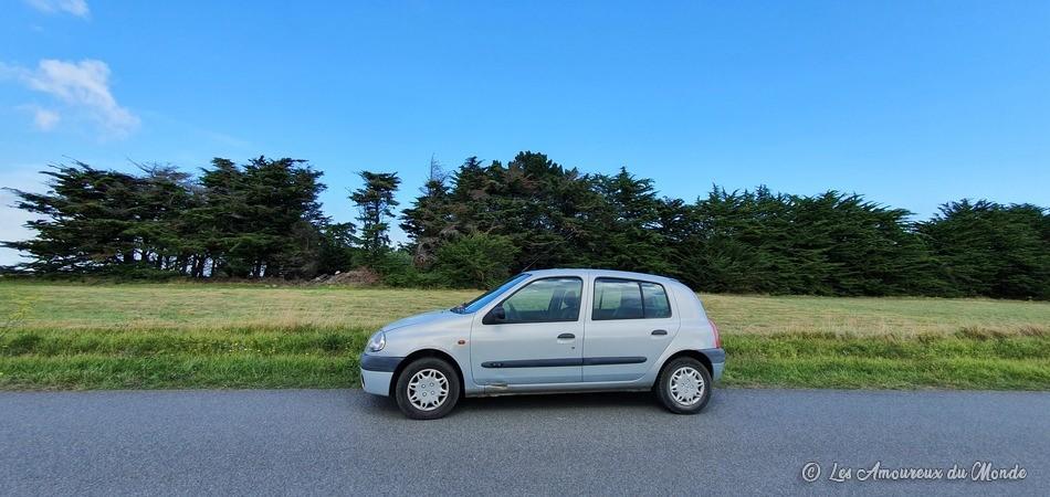 voiture sur Belle-île-en-Mer