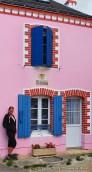 Maison colorée à Bangor - Belle île en Mer