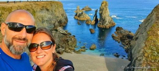 Les Aiguilles de Port Coton - Belle île en Mer