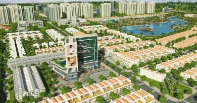 Một góc phối cảnh dự án khu đô thị Đông Tăng Long