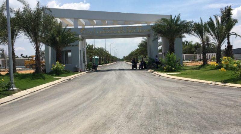 Cổng vào dự án khu dân cư Centana Điền Phúc Thành
