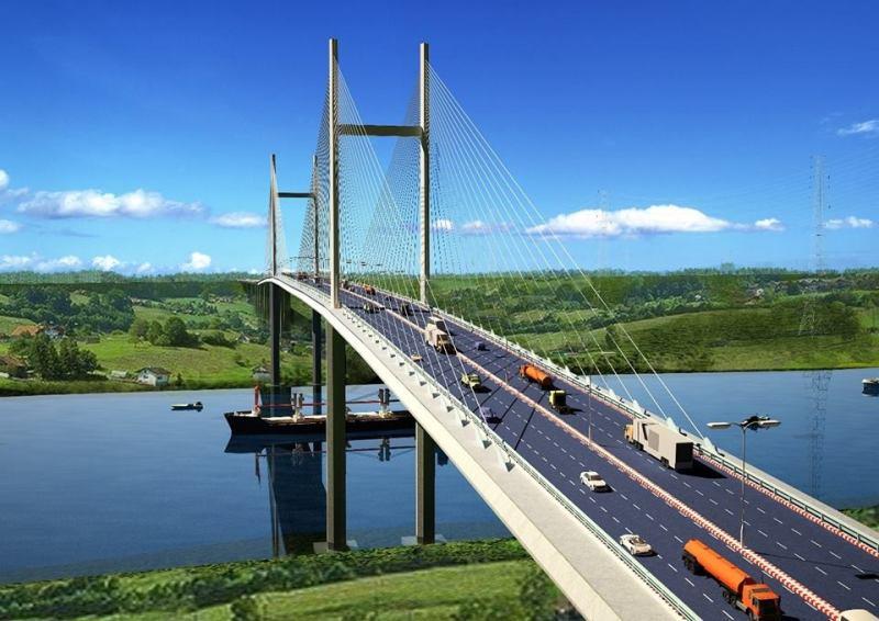 Cầu nối từ Mai Chí Thọ qua Đảo Kim Cương và SaiGon Mystery Villas giúp rút ngắn thời gian di chuyển vào trung tâm TP và trung tâm Q2