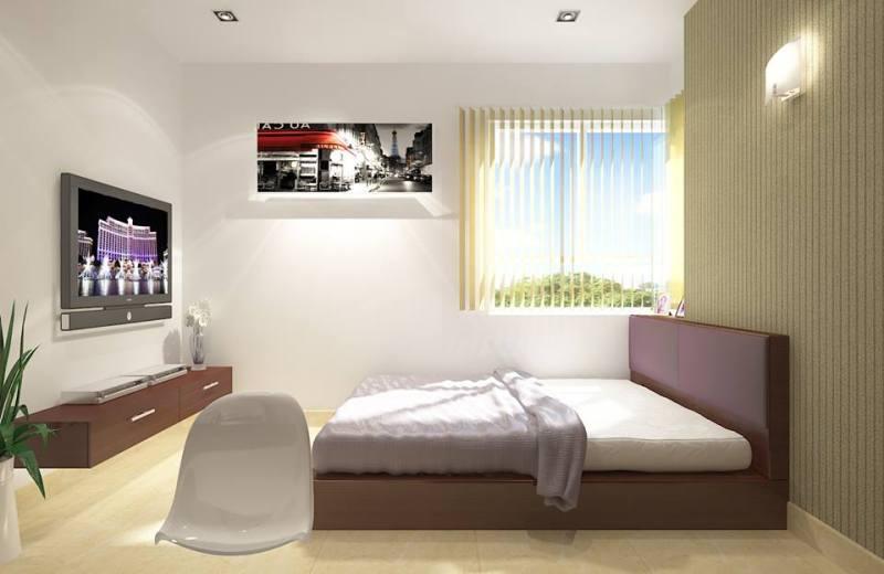 Phối cảnh nội thất - Phòng ngủ 1