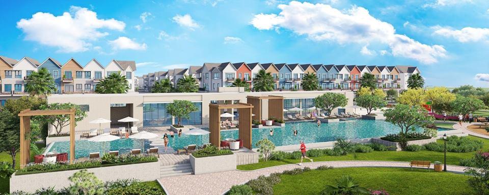 Phối cảnh tổng thể dự án Park Riverside Premium