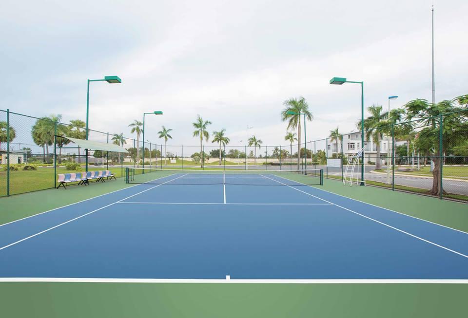 Sân tennis dự án Park Riverside Premium
