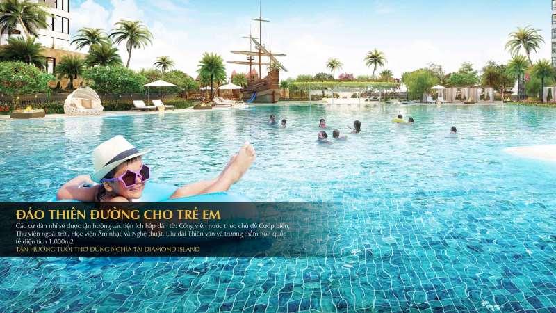 Đảo Kim Cương - Đảo thiên đường dành cho trẻ em