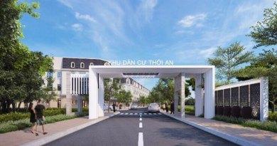 Dự án Nhà Phố Thới An Quận 12, 4,8 tỷ/căn 1 trệt 3 lầu (5×17)
