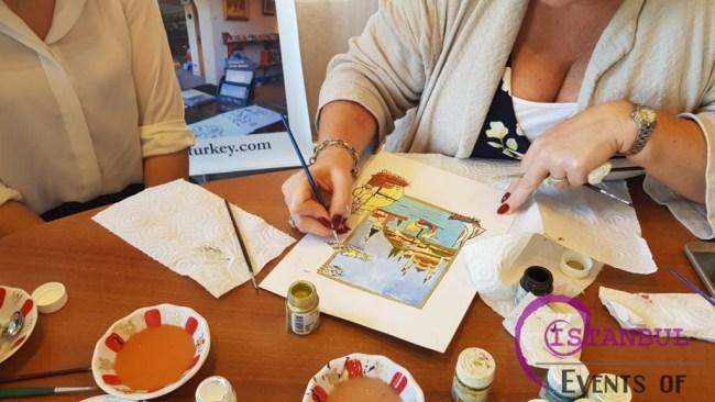 Ottoman Miniature Watercolor Paintings Workshop