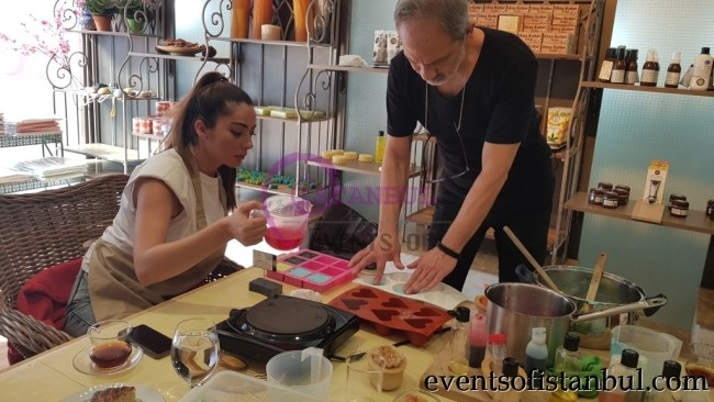 Turkish Soap Making Lesson Istanbul