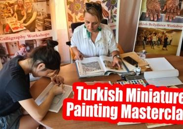 Turkish Miniature Painting Masterclass in Istanbul