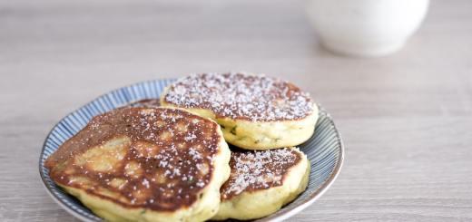 Recette pancakes cétogène et lowcarb