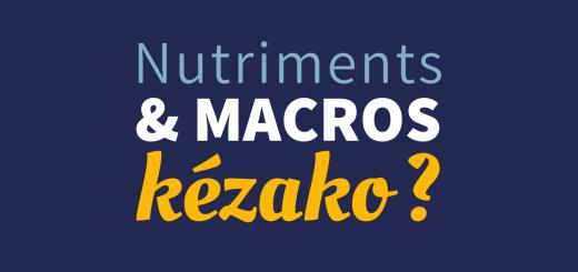 Nutriments et macros en régime cétogène et lowcarb
