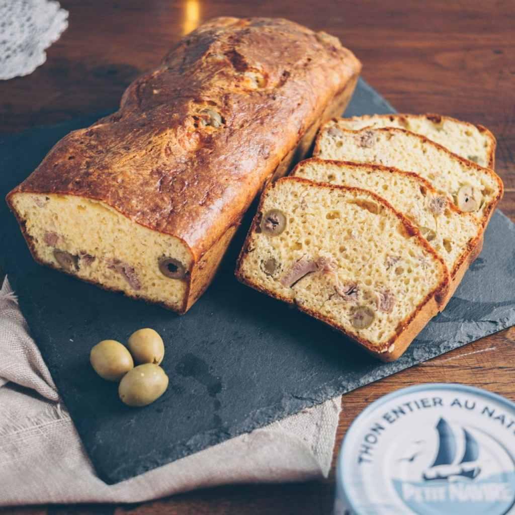 Cake au thon céto sans farine