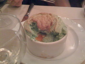 green vegetable souffle