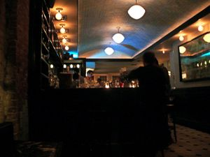 the bar at no. 7 restaurant