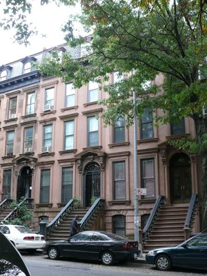 beautiful brownstones