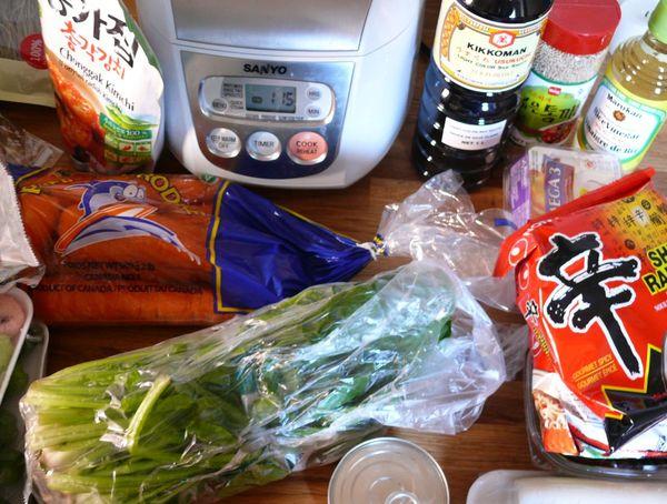 korean grocery haul