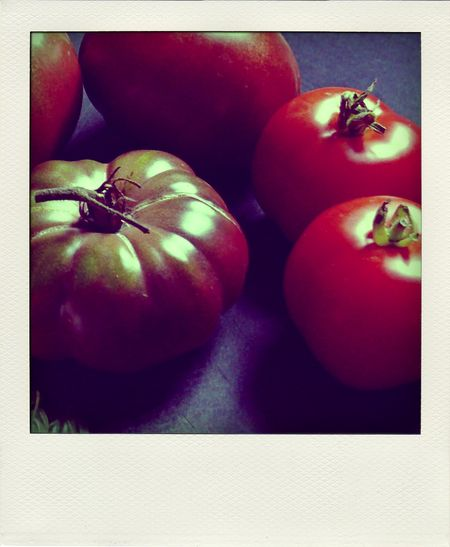 heirloom tomatoes from mom's garden