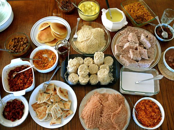 my sri lankan breakfast bday feast!