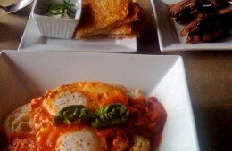 neapolitan eggs and potato rosti