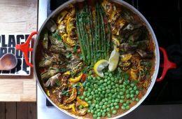 early-summer paella