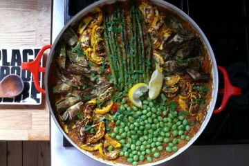 early-summer paella