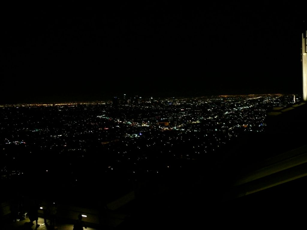 LA from griffen observatory