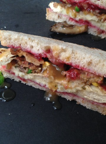 the leftovers sandwich