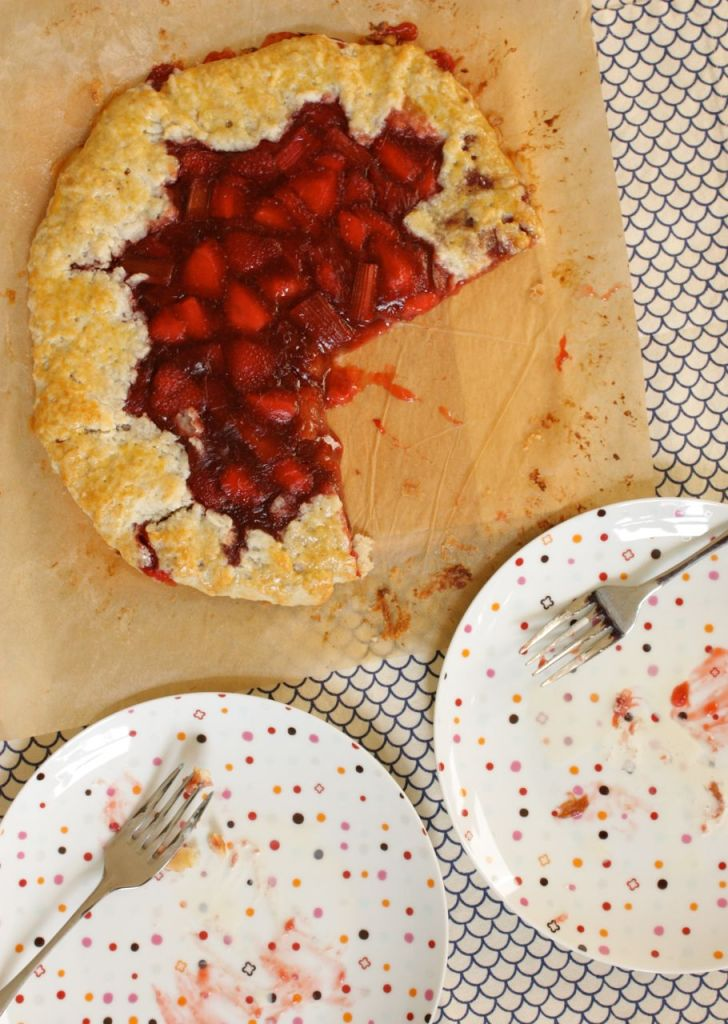 ruby red galette