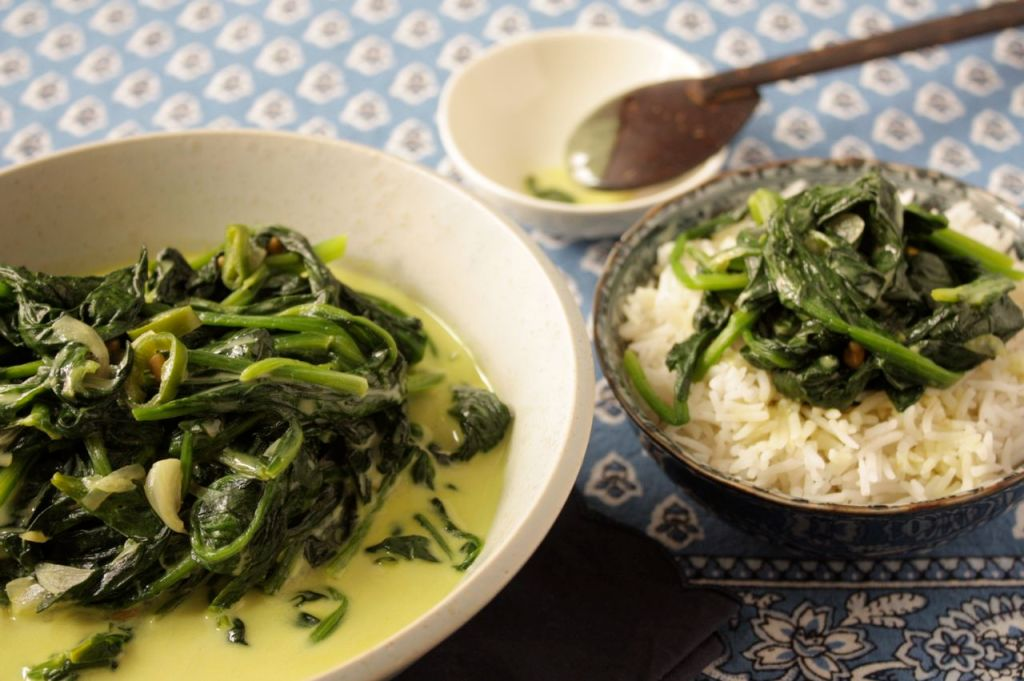 soft scented spinach