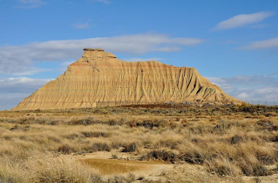 Extrêmement Notre premier desert ! Les Bardenas Reales en Espagne LP86