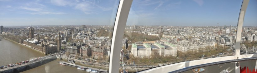 Panorama haut london eye