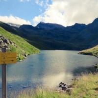 Le Lac du lou, randonnee a St Martin de Belleville en Vanoise