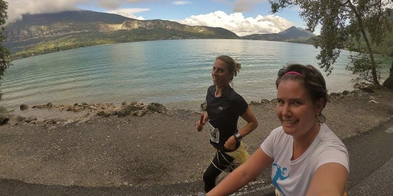 Notre tour du lac d'Annecy en run & bike : l'ancilevienne
