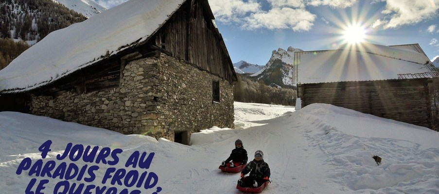 4 jours au paradis froid du Queyras, a Ceillac