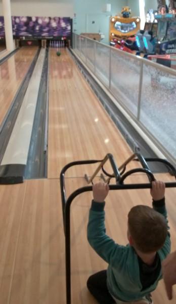 Photo prise dans un autre bowling !