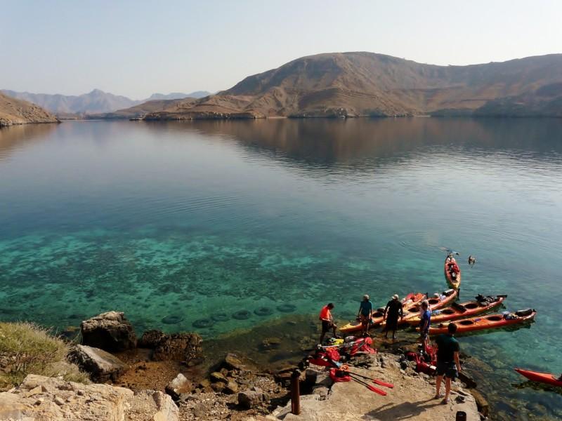 Kayak Oman Musandam