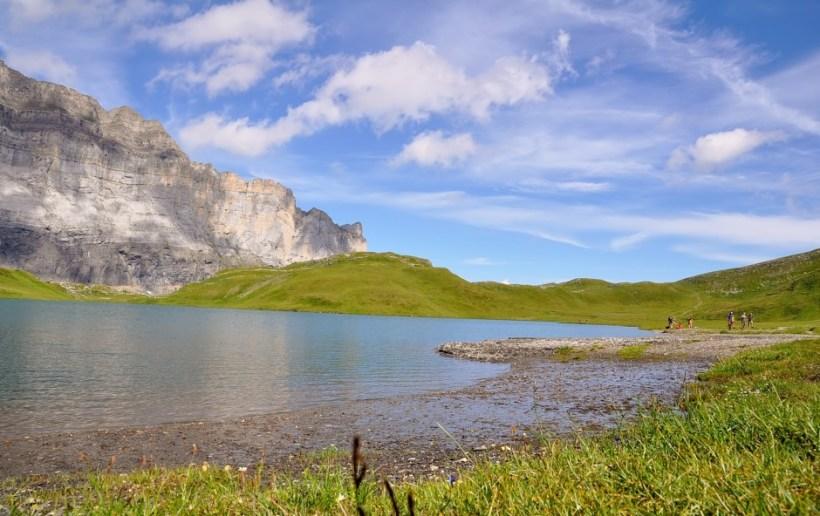 Lac d'anterne - tour des fiz en rando en famille